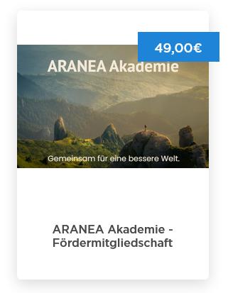 Aranea Fördermitgliedschaft